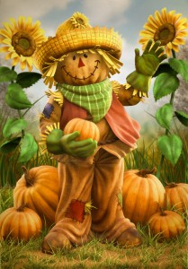 Cover photo for Art Walk Scarecrow Contest