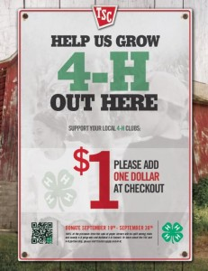 Cover photo for 4-H, Tractor Supply Co. Fundraiser