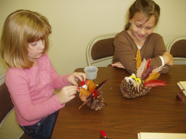 Image of kids crafting