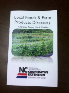 localfood guide booklet