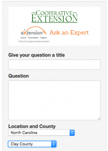 Cover photo for An Online Tool Provides Access to Information From Extension's Field Faculty.