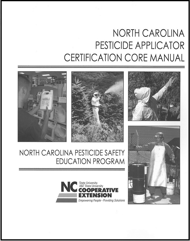 Pesticide Exams Offered North Carolina Cooperative Extension