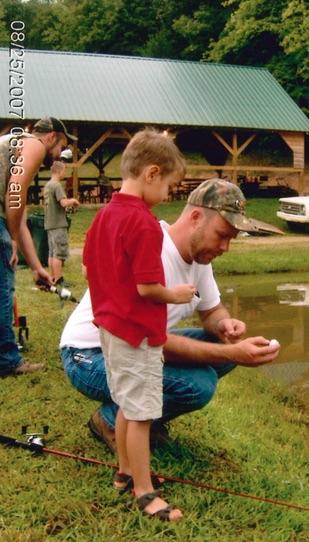 Image of Josh Ritz fishing