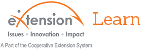 eXtension Learn logo image