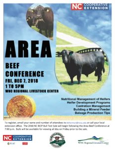Cover photo for 2018 WNC Area Beef Conference