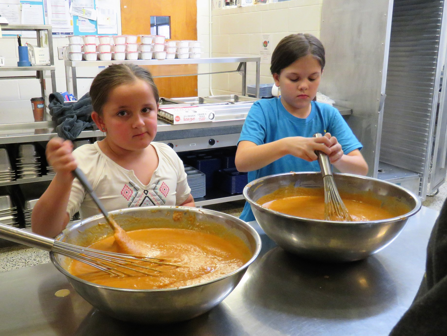 Image of kids cooking