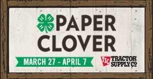 Paper Clover flyer image