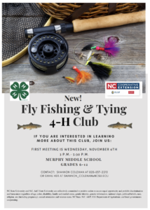 Cover photo for New!  Fly Fishing & Tying 4-H Club