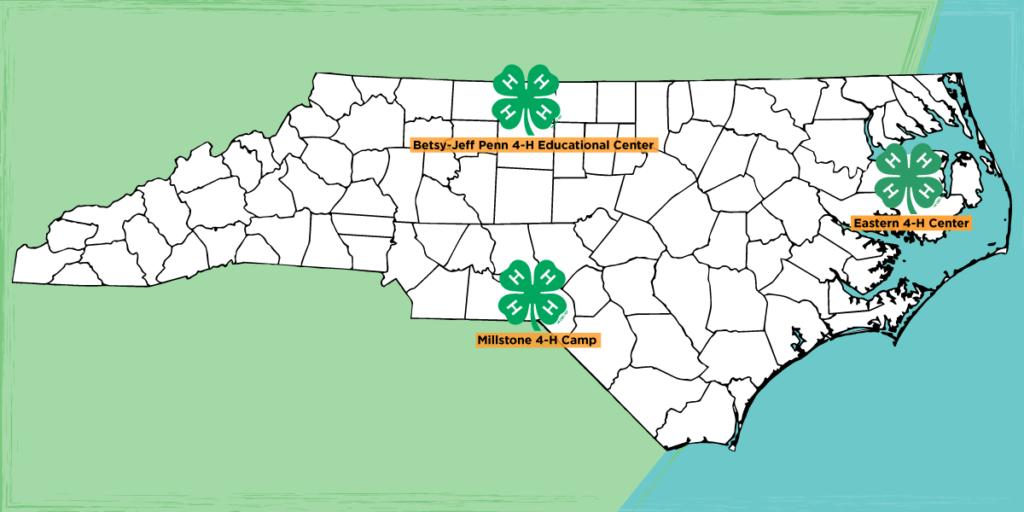 4-H Camp Map