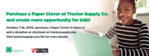 Cover photo for It is 4-H Paper Clover Time!!!!