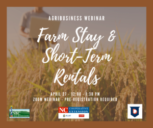 Cover photo for Farm Stays and Short Term Rentals