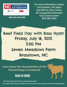 beef cattle field day